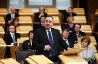 Alex Salmond in chamber