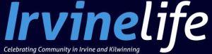 Masthead for Irvine Life magazine