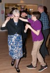 Couple dancing at Dr Philippa Whitford's SNP Candidate Adoption night