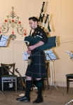 2015 Troon Burns Supper - young piper playing