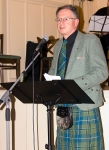 2015 Troon Burns Supper - Vincent - MC for the evening