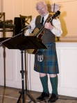 2015 Troon Burns Supper - Gaving playing guitar and singing solo.
