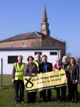 SNP canvassing team in Tarbolton with Philippa