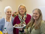 SNP Dr Philippa Whitford's drop-in café - Home baking on offer along with some of the bakers