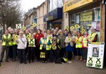 SNP Canvassing team with Dr Philippa Whitford