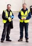 SNP canvassers in Bridgegate shopping precinct