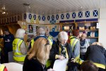SNP campaign rooms in Irvine after canvassing