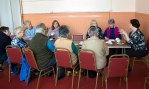 SNP Dr Philippa Whitford at a drop-in event in Prestwick Community Centre
