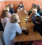 SNP Dr Philippa Whitford 's drop-in event in Prestwick Community Centre