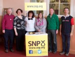 SNP's Dr Philippa Whitford at a Prestwick Community Centre drop-in event