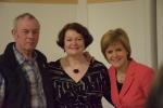 Dr Philippa Whitford and Nicola Sturgeon