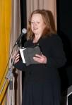 Joan McAlpine talking at Dr Philippa Whitford's SNP Candidate Adoption night