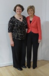 Dr Philippa Whitford and Nicola Sturgeon, First Minister, Castlepark SNP Fundraiser