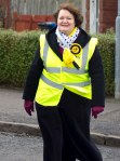 Dr Philippa Whitford Canvassing SNP Irvine