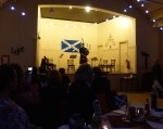 2015 Troon Burns Supper - piper playing solo on stage