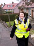 Philippa canvassing in Dundonald-01