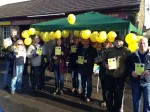 SNP team at Dundonald stall