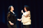 Philippa Whitford and Elaine C Smith (not doing a duet - honest)