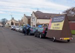 SNP cavalcade in Monkton