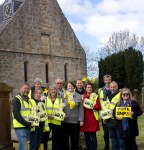 SNP team in Symington supporting Dr Philippa Whitford