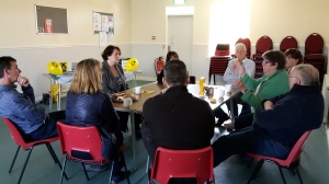 SNP Dr Philippa Whitford Drop-in café in Symington