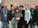 Group of Ayrshire Green Party Members at count