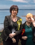 Corri Wilson MP during here successful election result