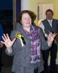 Dr Philippa Whitford MP at Craigie for her celebration party